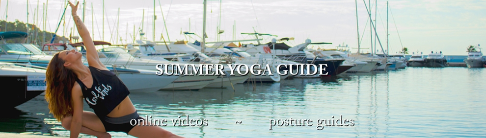 summer yoga guide header